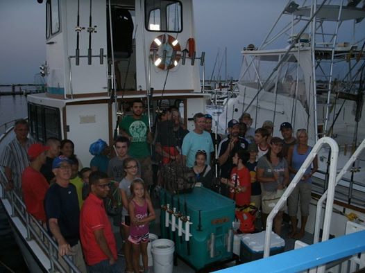 Everyone has a great time aboard the Capt. Dave!